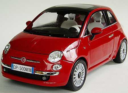 fiat 500 baujahr 2007 detailansicht artikel nr ma6121 speedline modellautos. Black Bedroom Furniture Sets. Home Design Ideas