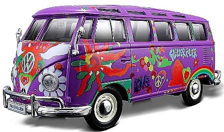 detailansicht artikel nr ma8184 vw bus samba hippie line speedline modellautos. Black Bedroom Furniture Sets. Home Design Ideas