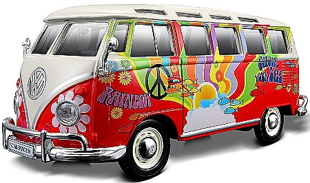 detailansicht artikel nr ma8185 vw bus samba hippie. Black Bedroom Furniture Sets. Home Design Ideas