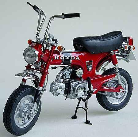 Honda dax st50 baujahr 1969