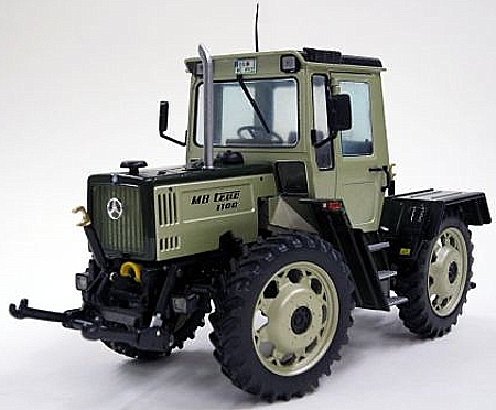 traktormodell mb trac 1100 mit pfleger dern w441 1987. Black Bedroom Furniture Sets. Home Design Ideas